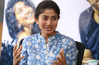 Sai Pallavi looks super cute in plain dress at her interview in Telugu about movie Fidaa ~ Exclusive Celebrities Galleries 057.JPG
