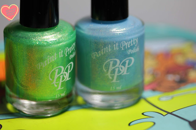 Paint It Pretty Polish Scooby Doo swatch by Streets Ahead Style