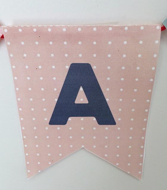 Banderines DIY rosa