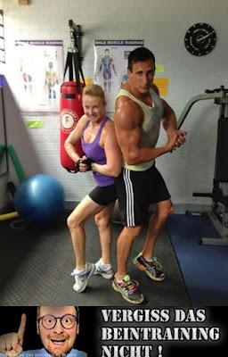 Lustige Bodybuilding Bilder mit Spruch - Motivation Beitraining