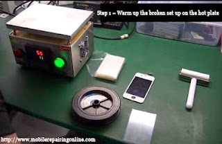electronic hot plate for smart phones lcd touch