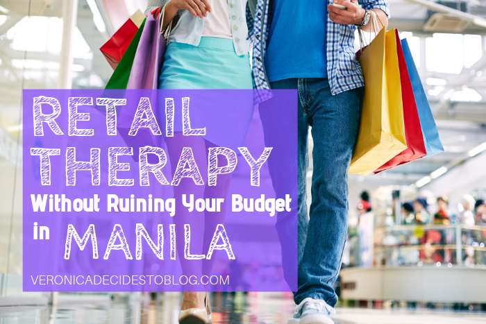 Retail Therapy in Manila