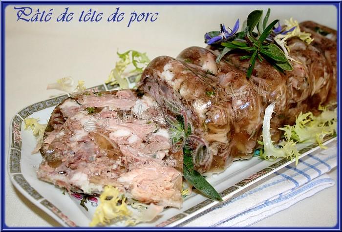 la table lorraine d amelie fromage de t 202 te de porc fermier ou p 194 te de t 202 te