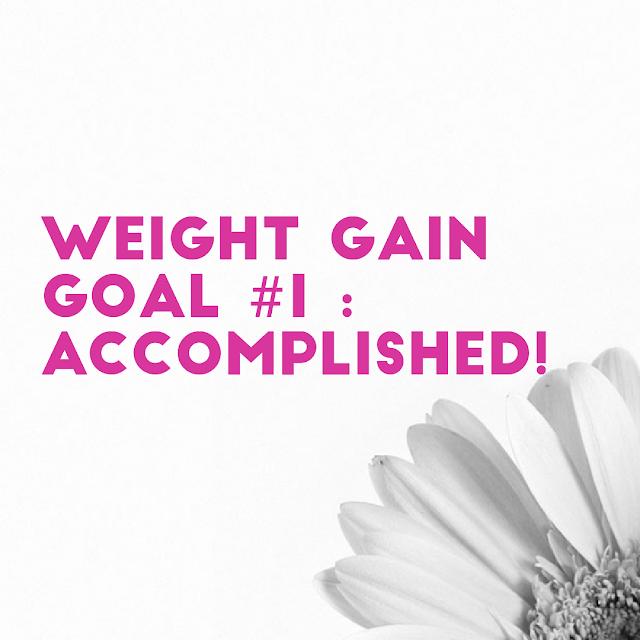 Weight gain blog indian goals