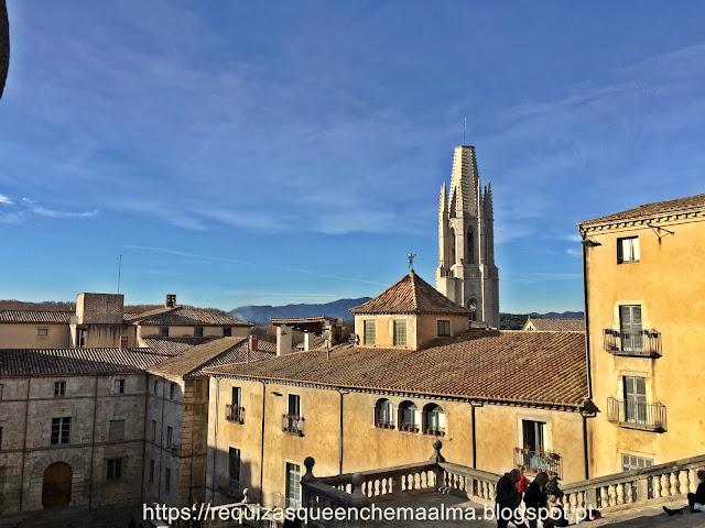 Acesso à Catedral de Santa Maria, Girona