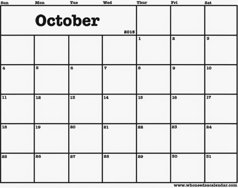 Free Printable Calendar 2018 Free Printable Calendar October