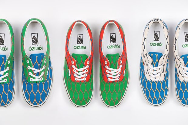 4b5b98408c Celebrities Flash: Kenzo and Vans Present Their First Collaboration ...