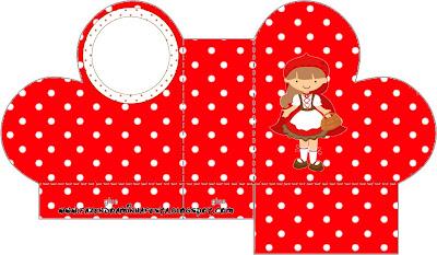 Chapeuzinho Vermelho Kit Completo Com Molduras Para Convites