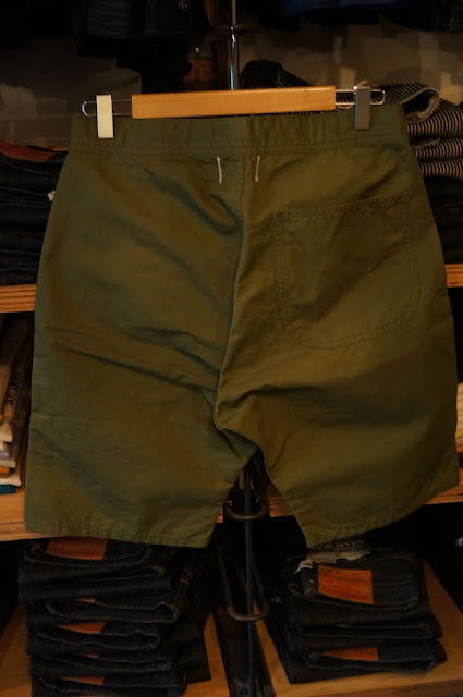 Workers EZ Shorts,Cotton Linen Karsey,Olive
