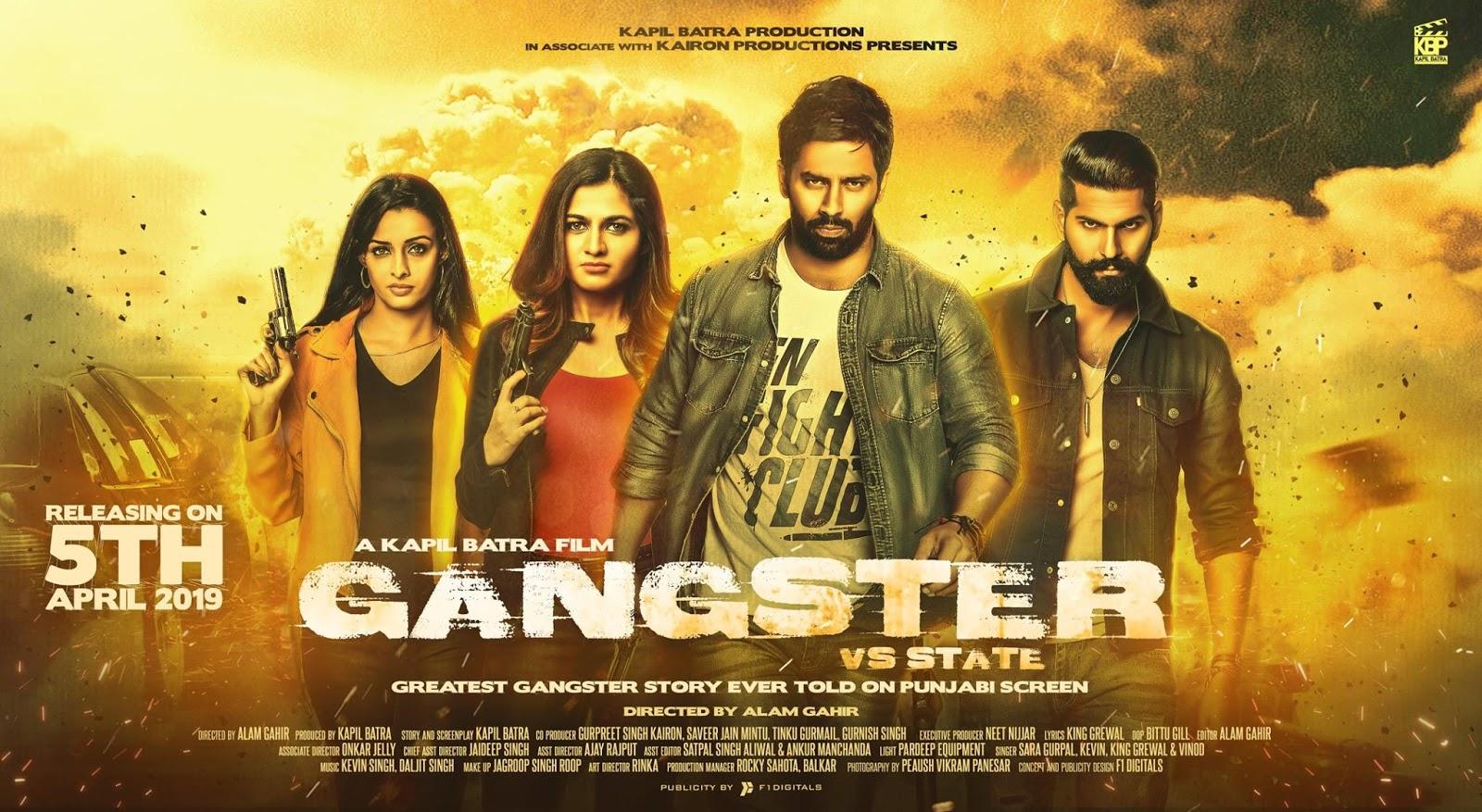 Gangster vs State 2019 Punjabi 480p WEB HDRip 350Mb x264