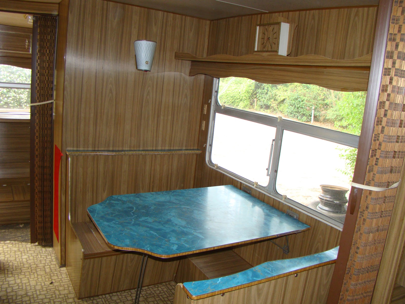 Delilah Retro Caravan Renovation