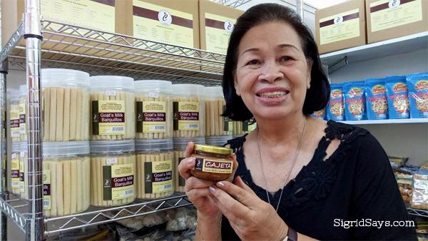 Bacolod pasalubong - Clara's Goat's Milk Barquillos