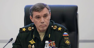 Russian Chief of the General Staff of the Armed Forces General Valery Gerasimov