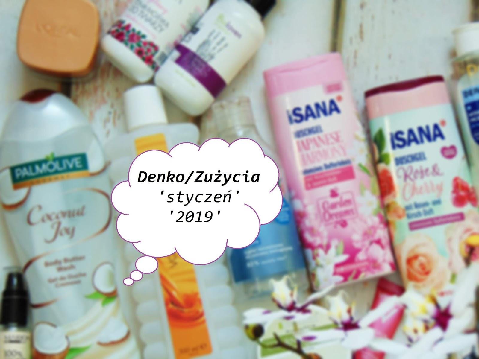 Denko / Zużycia 'styczeń 2019'