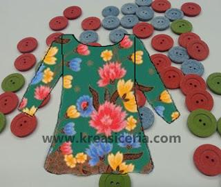 Membuat Lubang Kancing Baju Dengan Cara Manual
