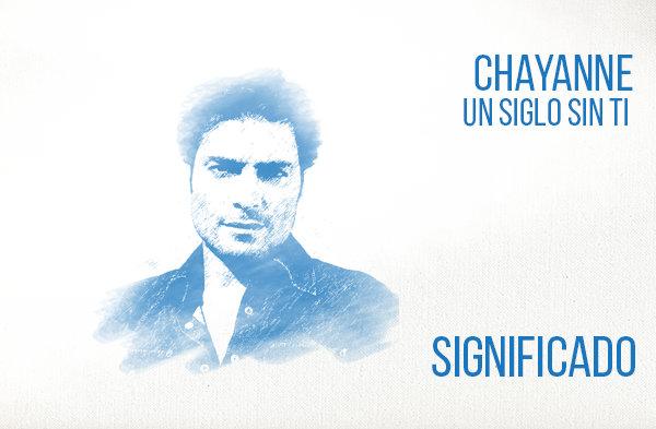 Un Siglo Sin Ti significado de la canción Chayanne.