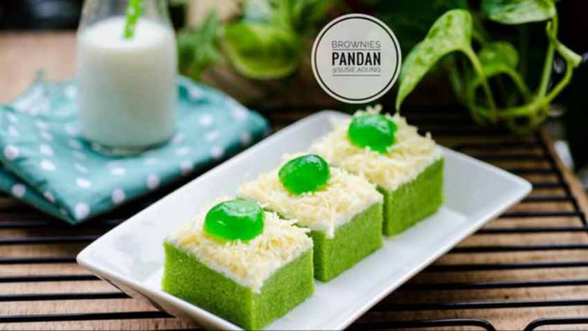 Resep Membuat Brownies Kukus Pandan by Susi Agung