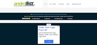 AndroLiker.net | Autolike Facebook Terbaru yang Bisa Menambah Ratusan LIKE Pada status fb atau Jadi banyak yang like melalui hp
