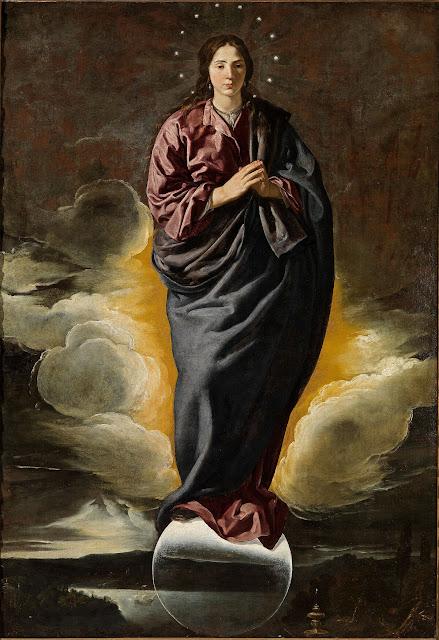 Diego Velázquez - Inmaculada Concepción (1618) - Fundación Focus-Abengoa (Sevilla)