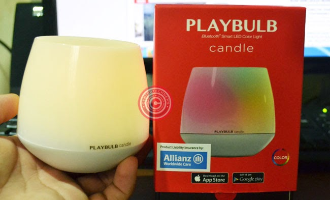 MiPOW PlayBulb Candle Review, Price and Specifications