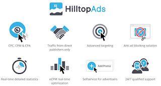 HilltopAds - Empresa de publicidad web