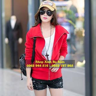 Tổng hợp các mẫu áo khoác nữ đẹp, giá rẻ 2016: kaki, nỉ, Jean,...