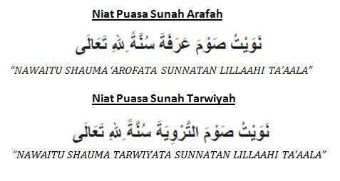 Bacaan Doa Niat Puasa Sunah Tarwiyah Dan Arafah Sebelum Idul Adha 2015
