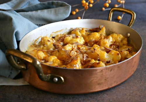 Roasted-Cauliflower-Gratin-with-Crispy-Shallots-4