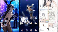 Seishun Buta Yarou wa Bunny Girl Senpai no Yume wo Minai V.2 Theme For MIUI 10