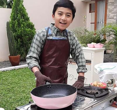 Naufal Ho pemeran Wendy Bola Koki