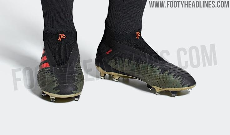 a5e9af4df Adidas Predator 18+ Paul Pogba Season 4 2018-19 Signature Boots ...