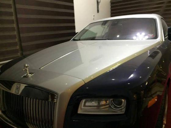 Dino Melaye Rolls Royce car