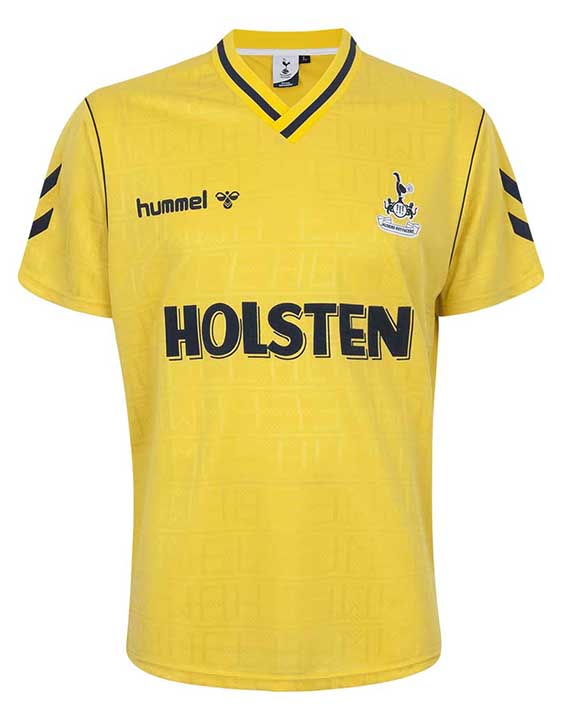 new product c630d 769b6 3 Stunning Hummel Tottenham Retro Shirts Launched - Footy ...