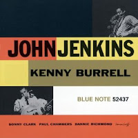 Blue Note LP of Kenny Burrell and John Jenkins