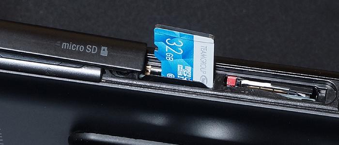 TEAMマイクロSDカードを実際に使用してみた感想レビュー