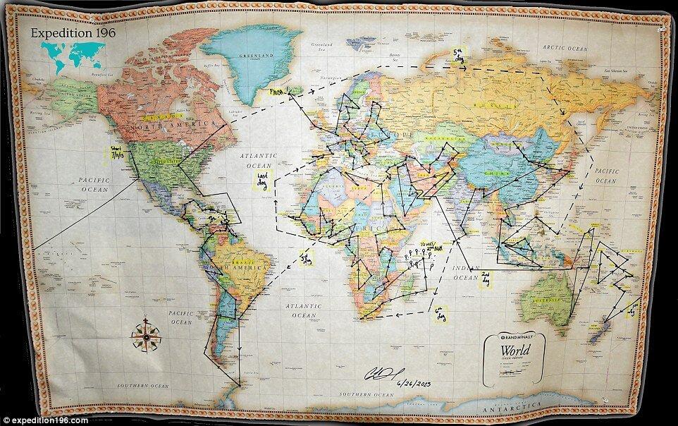 Cassie De Pecol Map