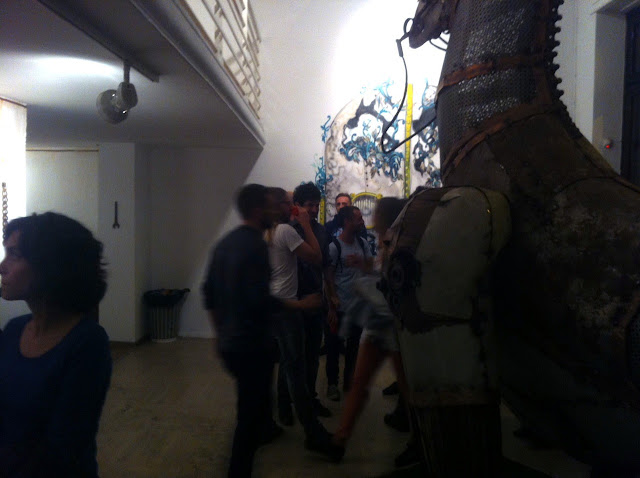 """Coverage Of Pixel Pancho """"The Garden Of Eden"""" New Solo Show In Turin, Italy 11"""