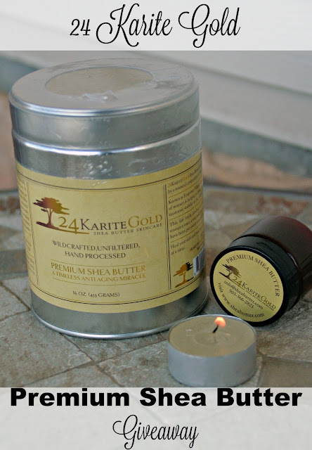 Shea Butter Giveaways, 24 Karite Gold Shea Butter, Shea Butter Reviews,