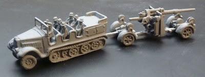 Gv173 Sdkfz 7 artillery tractor 8t + crew