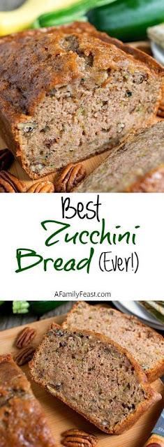Best Zucchini Bread Ever