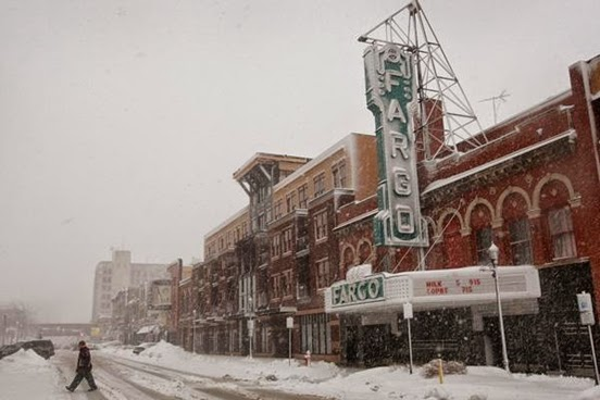 Fargo, North Dakota, 6.8 - 5 Coldest Large American Cities