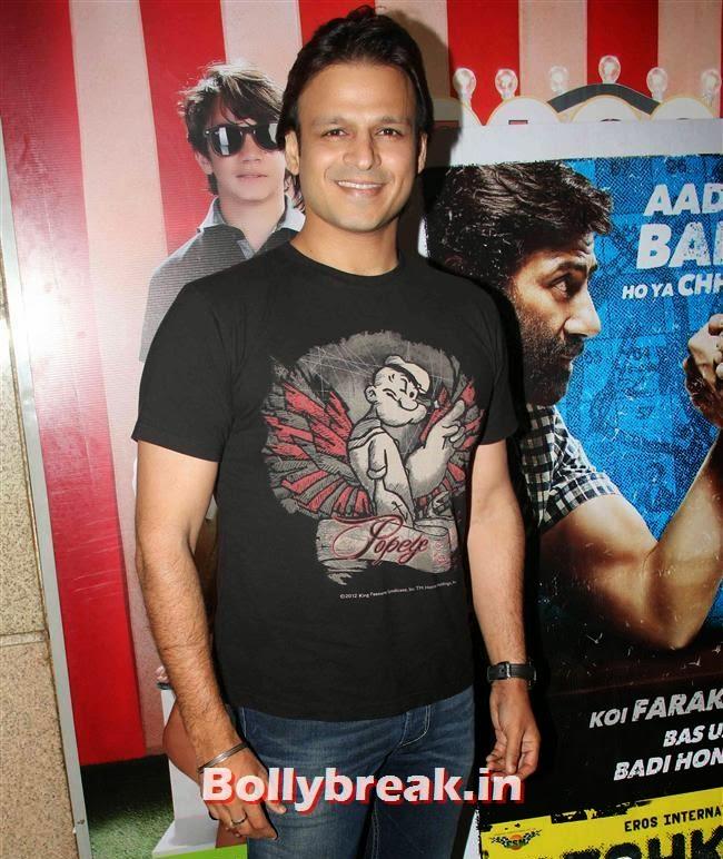 Vivek Oberoi, Shilpa Shetty, Bipasha Basu at Dishkiyaoon Premiere