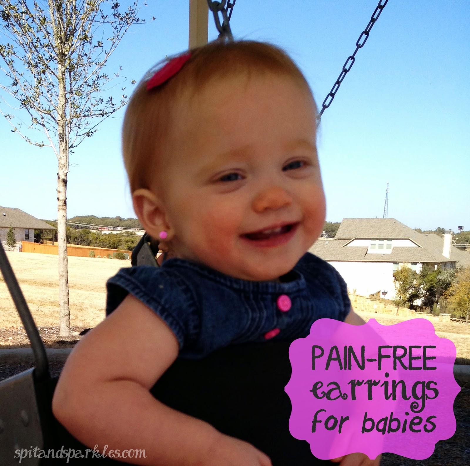 Pain-free, maintenance-free earrings for babies are as easy as using stickers! #fashion #trendybaby