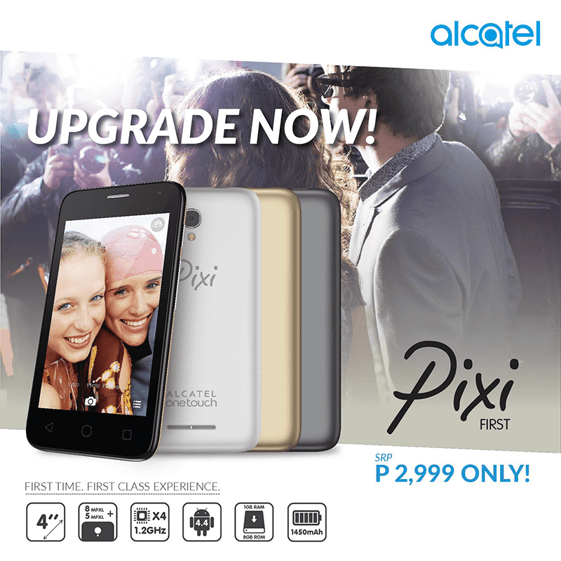 Alcatel Pixi First Now In The Philippines!