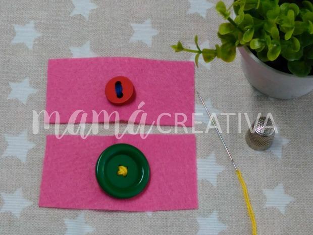 coser un boton