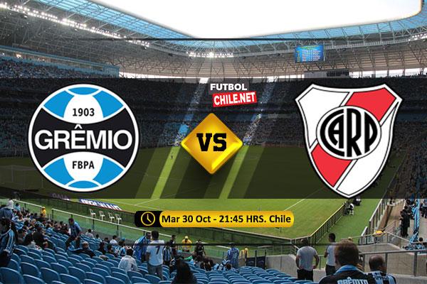 Mira Grêmio vs River Plate en vivo y online por la semifinal vuelta de la Copa Libertadores