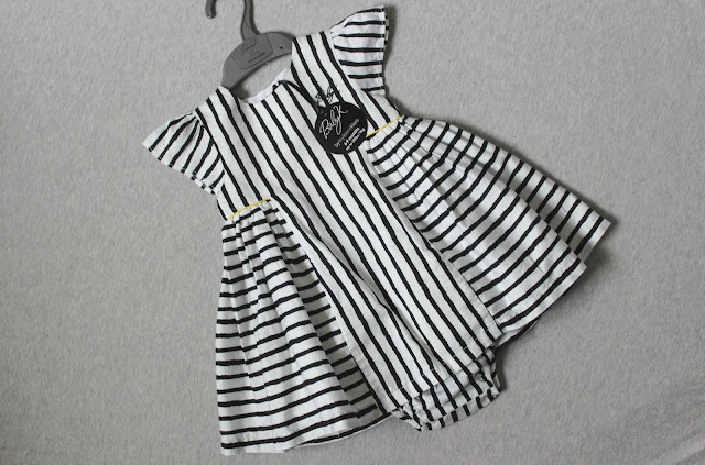 Baby K Stripe Dress with Knickers Review