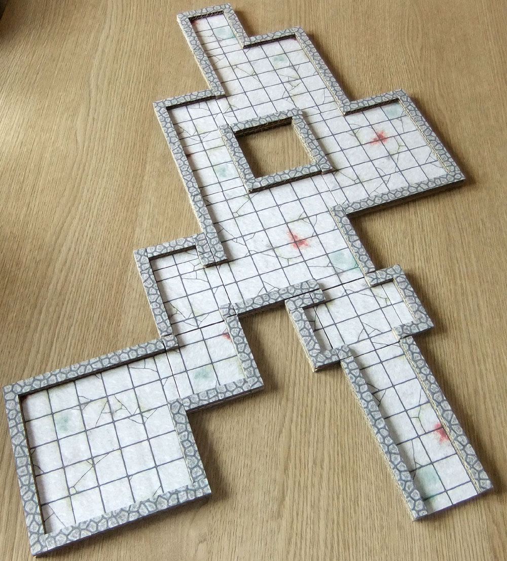 The Crooked Staff Blog My Take On The 2 5d Dungeon System