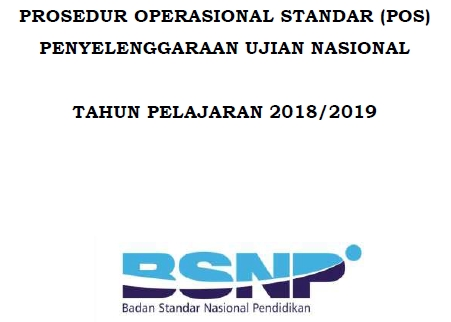 Peraturan Badan Standar Nasional Pendidikan  Download POS UN SMP/MTs/SMPTK 2020 dan POS UN SMA/MA/MAK/SMK 2020 KTSP 2006-Kurikulum 2020 Tahun Pelajaran 2020/2020