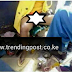Nairobi Female Shoe Shiner Exposes Her NUNU While Working & All Nairobi Men Are Flocking Her Workplace (FULL PHOTO INSIDE)